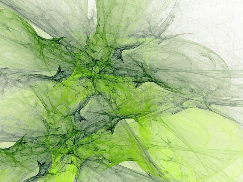 Fond vert illustration libre de droits