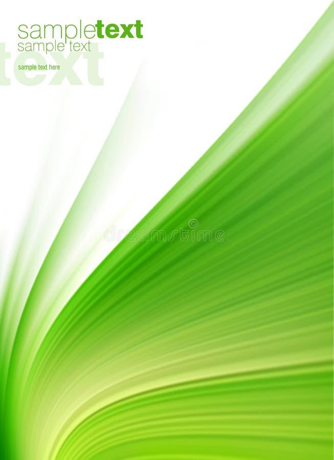 Fond vert abstrait illustration stock