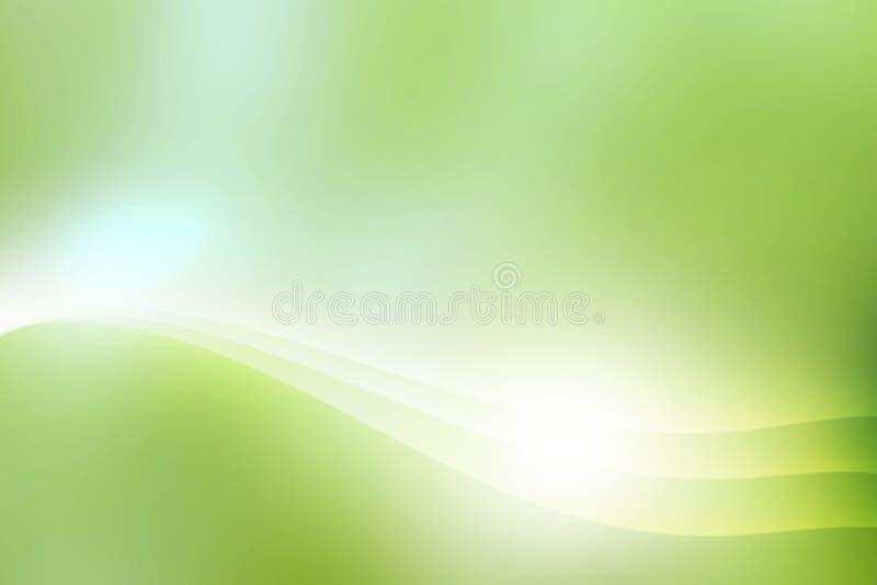 Fond vert abstrait photos libres de droits