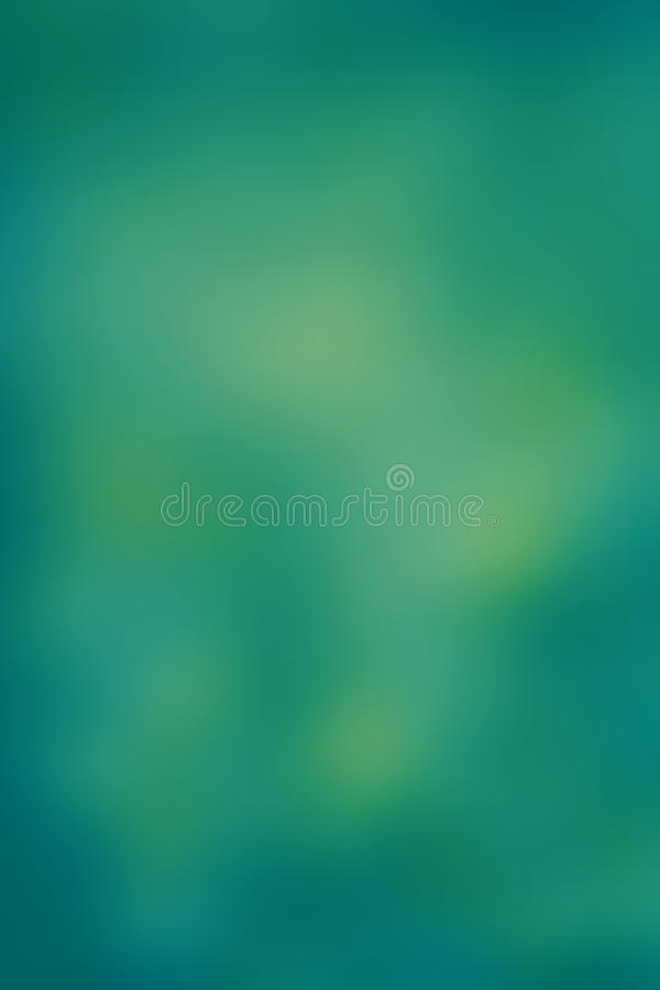 Fond vert abstrait avec le bokeh defocused, WI de texture de tache floue illustration libre de droits