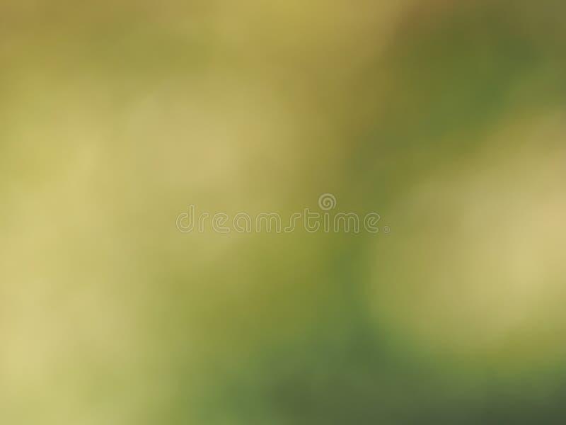 Fond vert abstrait de tache floue image stock