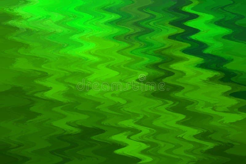 Fond vert abstrait onduleux photo libre de droits