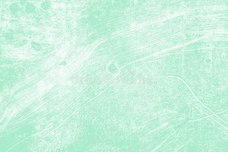 Fond vert bleu de courses de pinceau de menthe blanche images libres de droits