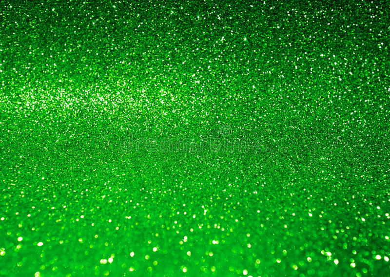 Fond vert brillant abstrait de scintillement photos stock