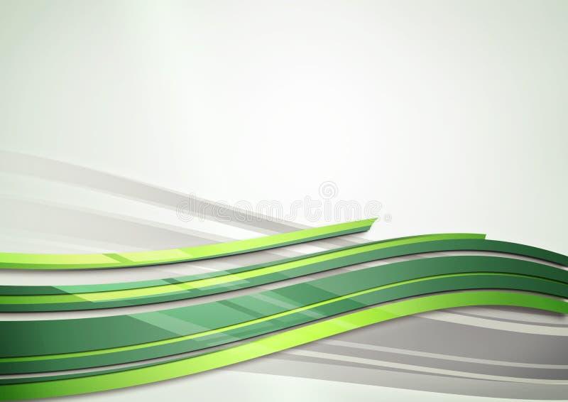 Fond vert d'abrégé sur éclat illustration libre de droits