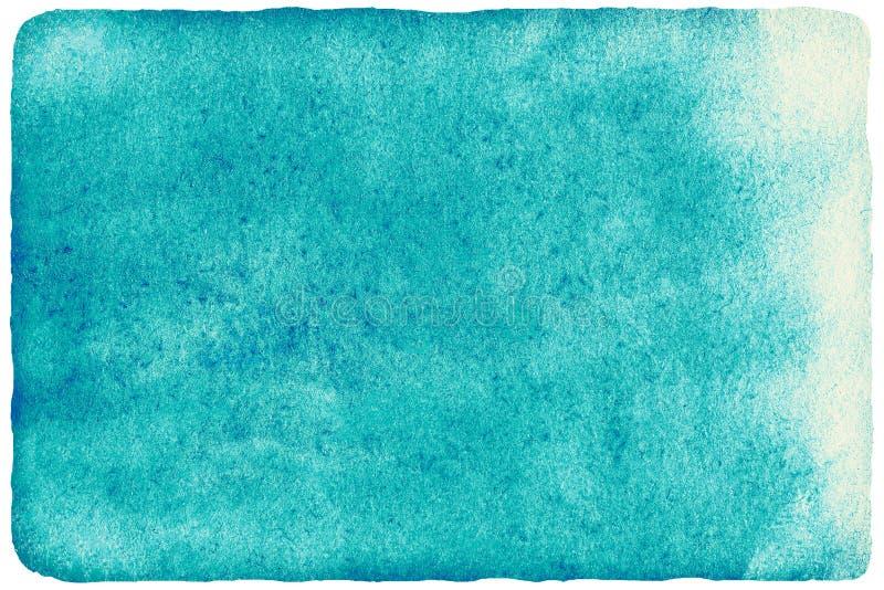 Fond vert d'abrégé sur aquarelle pour votre conception illustration stock