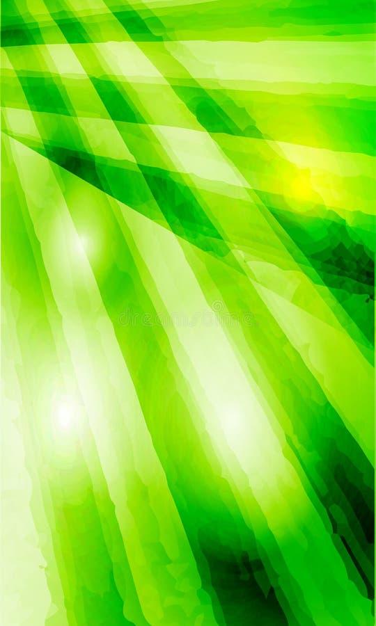Fond vert d'abrégé sur vecteur illustration de vecteur