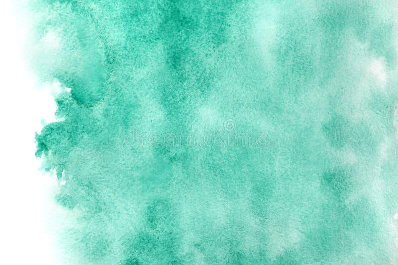 Fond vert d'aquarelle illustration libre de droits