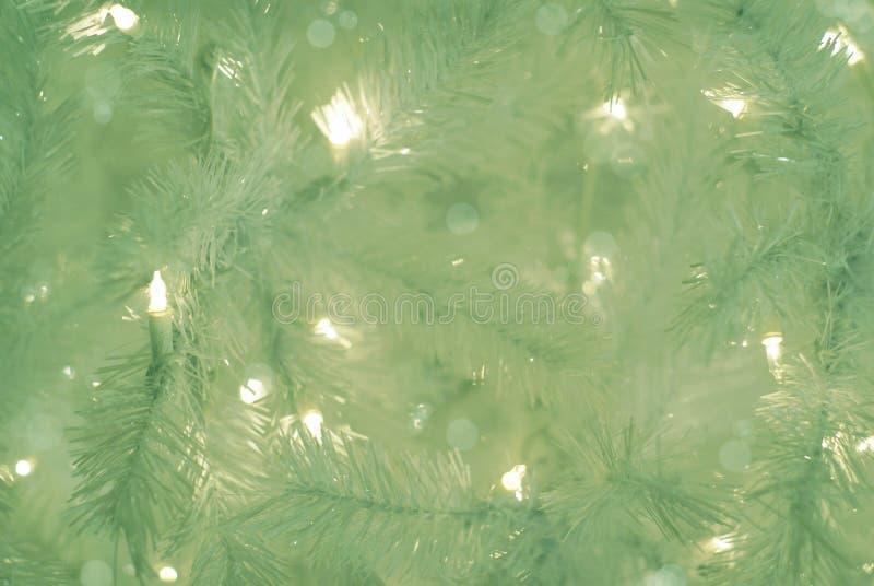 Fond vert d'arbre de Noël images libres de droits