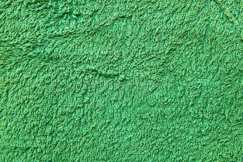 Fond vert d'essuie-main photo libre de droits