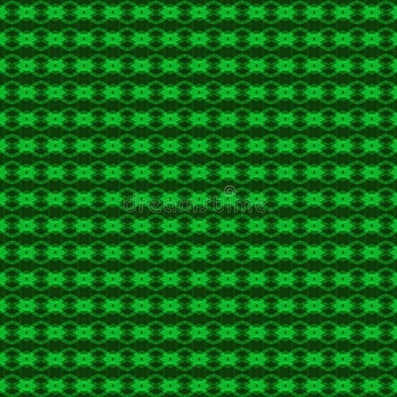 Fond vert de configuration illustration libre de droits