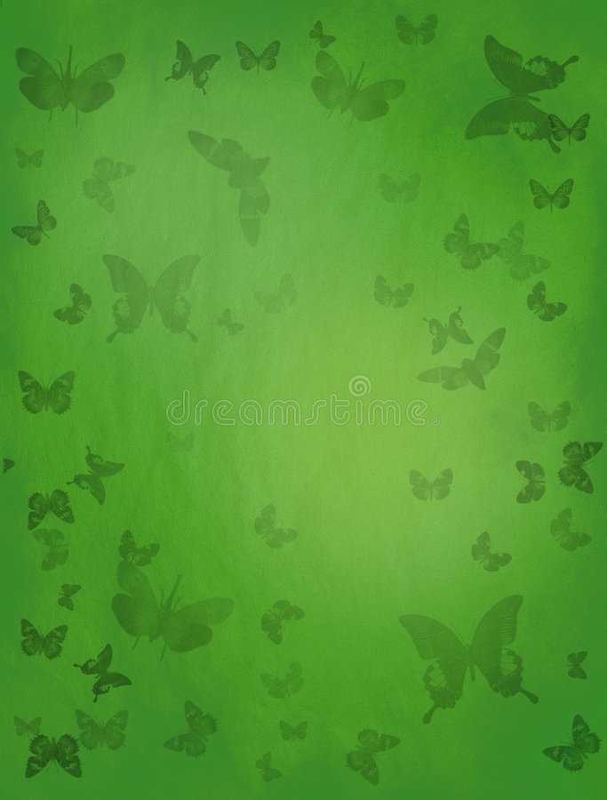 Fond vert de guindineau photos libres de droits