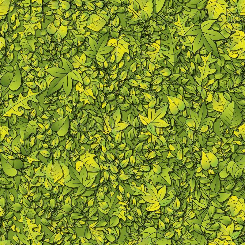 Fond vert de lame illustration stock