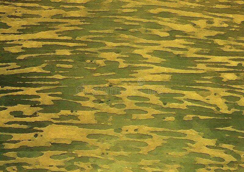 Fond vert de papier peint de conception de combat illustration libre de droits