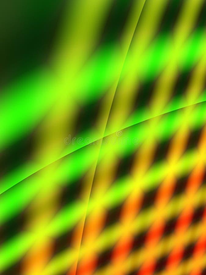 Fond vert de réseau illustration libre de droits