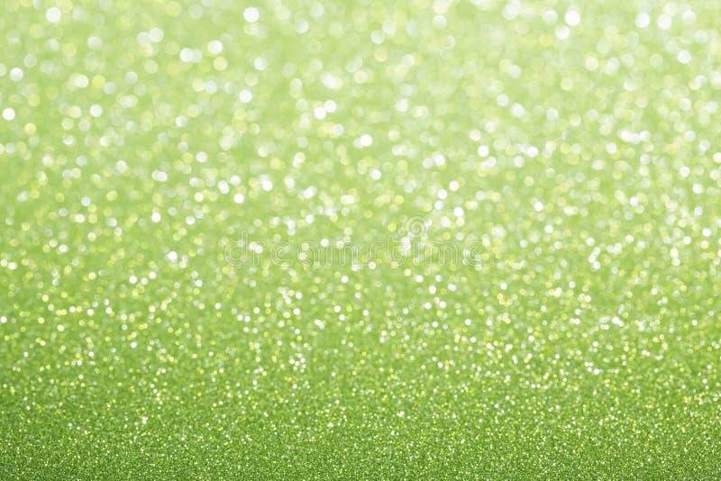 Fond vert vert de scintillement photo stock