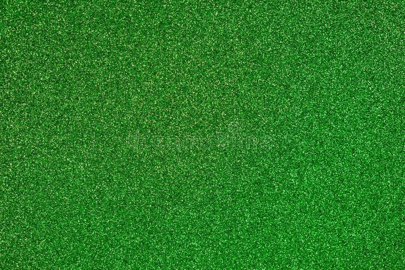 Fond vert de scintillement image stock