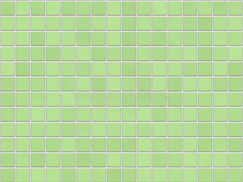 Fond vert de tuile illustration libre de droits