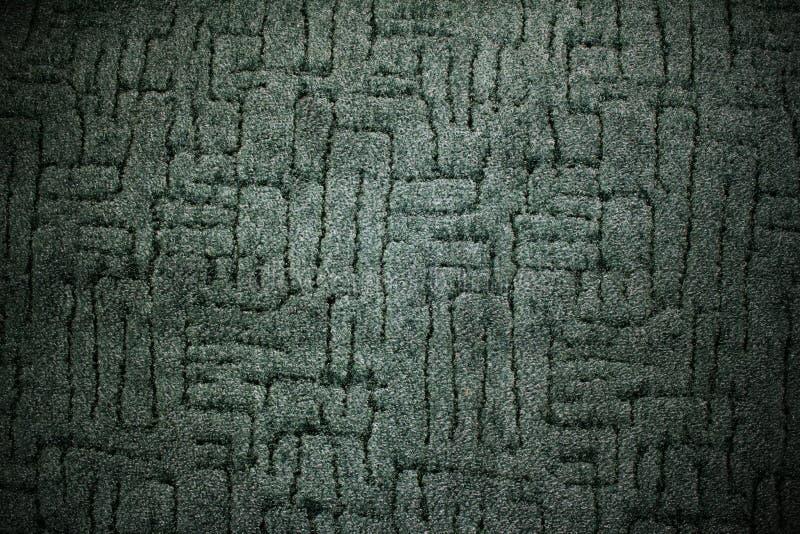 Fond vert-foncé de configuration de tissu de tapis photo stock