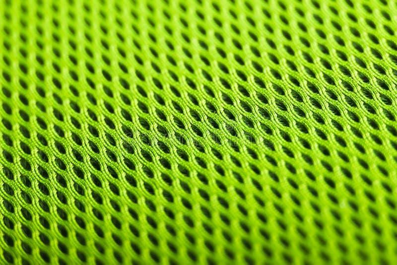 Fond vert Texture de tissu de maille Macro photos libres de droits
