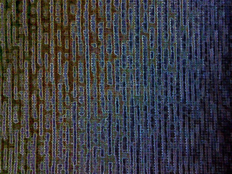 Fond vertical de texture de réseau de l'espace de cyber de matrice illustration libre de droits