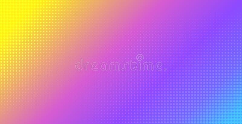 Fond vibrant abstrait de vecteur de gradient Calibre tramé d'effet pour l'insecte, bannière, conception d'affiche illustration de vecteur