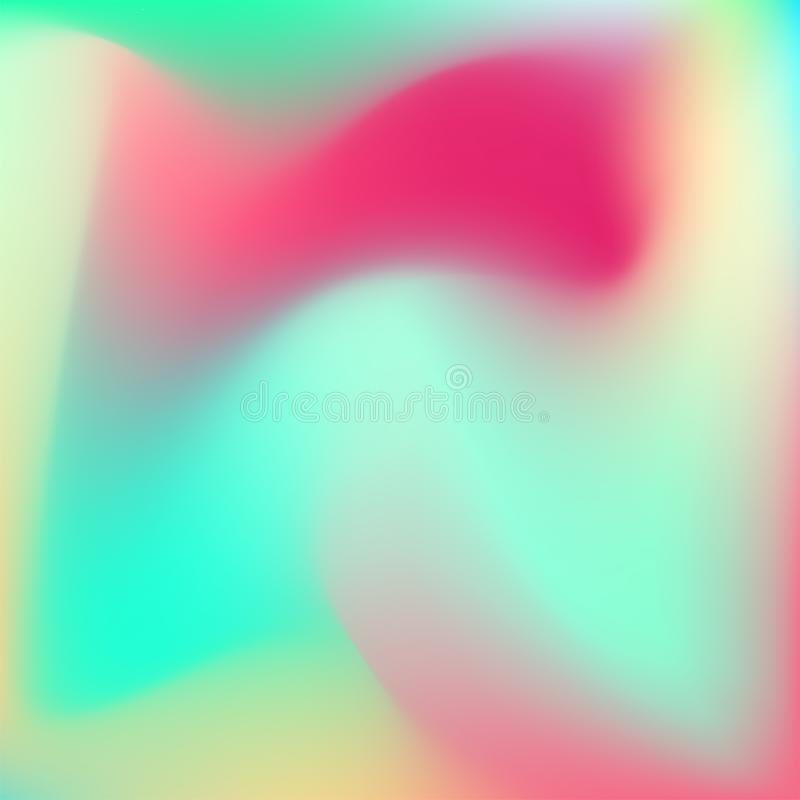 Fond vibrant au néon illustration stock