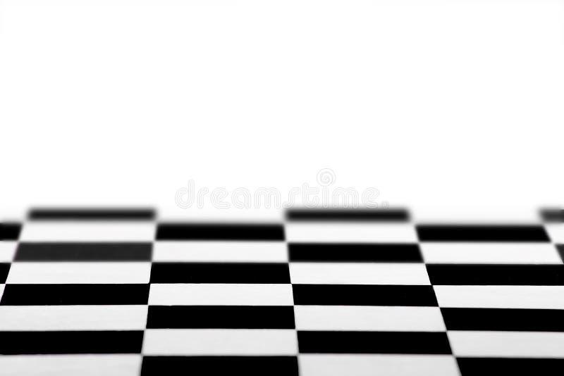 Fond vide de modèle d'échiquier, fond blanc image stock