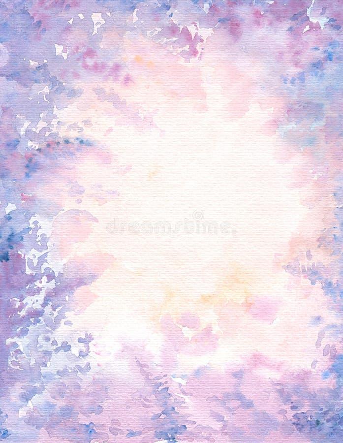 Fond violet abstractif illustration de vecteur