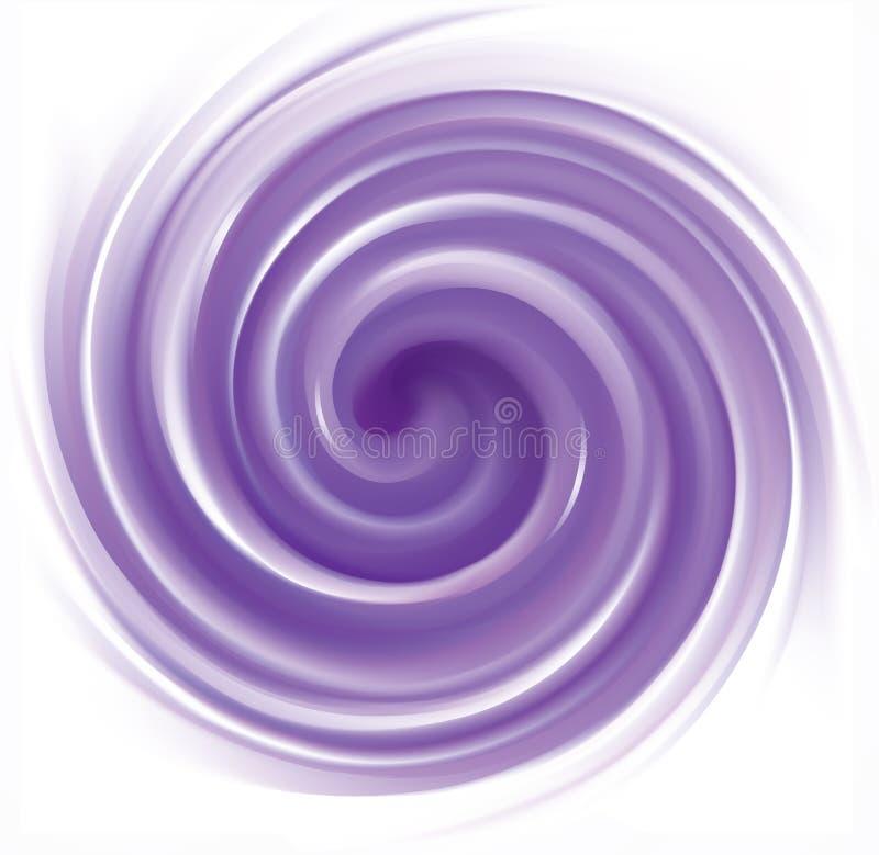 Fond violet abstrait de remous de vecteur illustration de vecteur