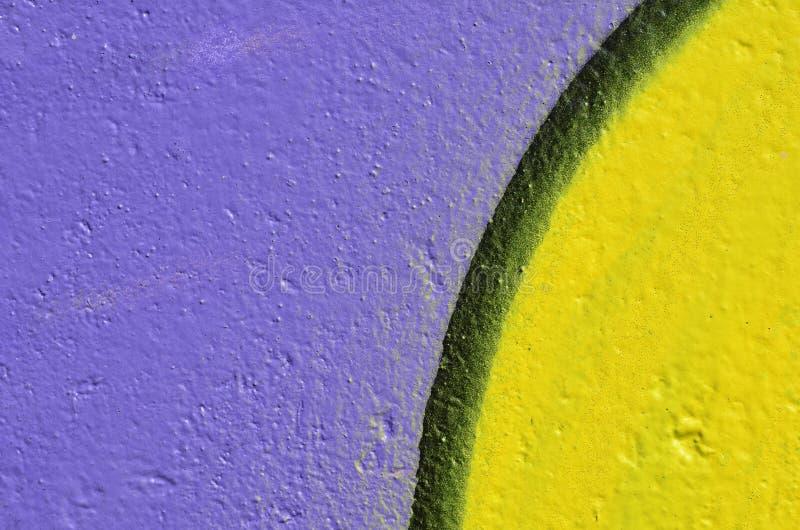 Fond violet et jaune images stock