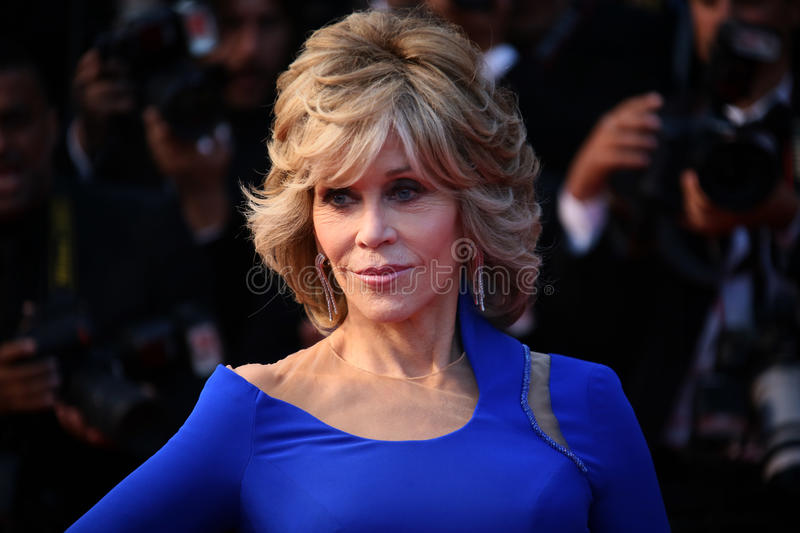 fonda Jane obrazy stock