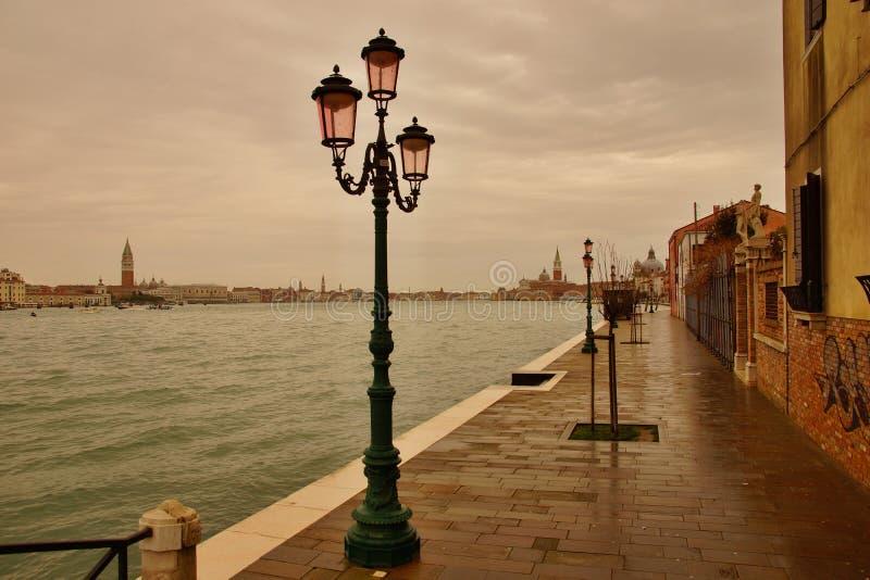 Fondamenta Croce on Giudecca Island royalty free stock photos