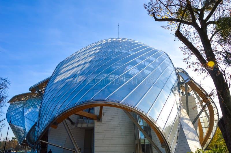 Fondation Louis Vuitton стоковая фотография rf