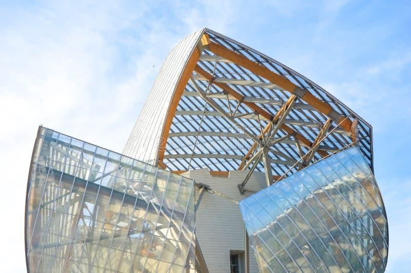 Fondation Louis Vuitton стоковое изображение rf