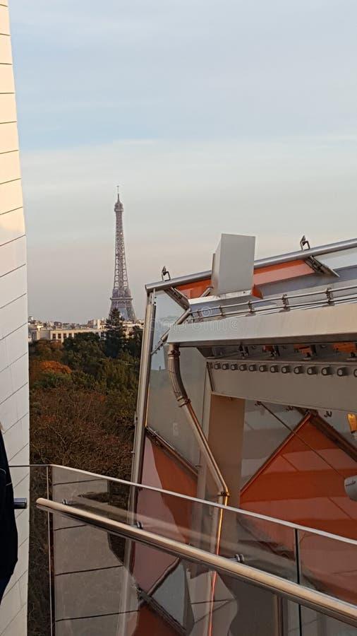 Fondation Louis Vuitton Paris Architecture fotografia stock