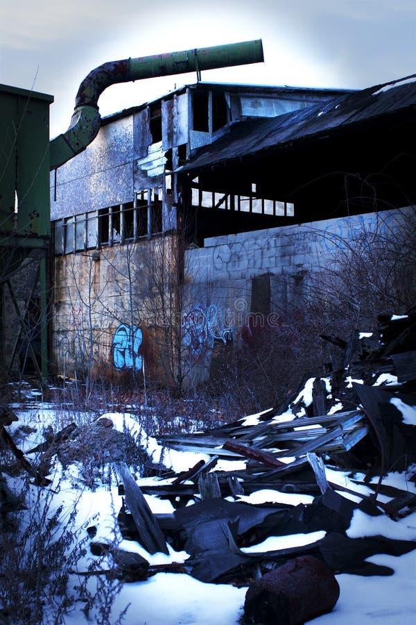 Fonderie abandonnée photos stock