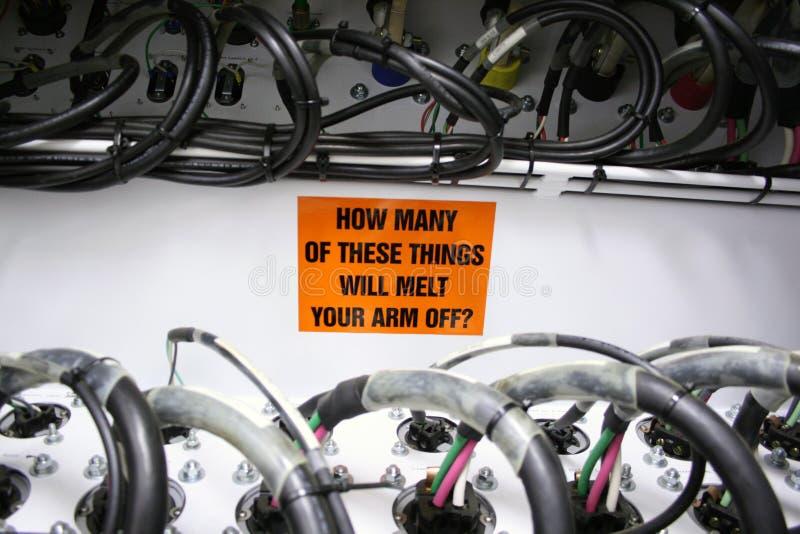 Fondez votre bras hors fonction ? photo stock