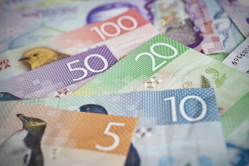 Fondi della Nuova Zelanda immagine stock