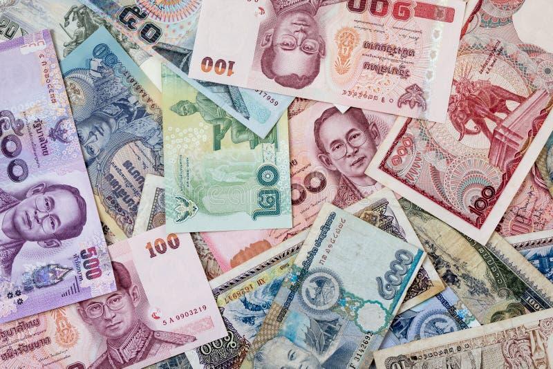 Fondi della Tailandia e fondi del Laos fotografie stock libere da diritti