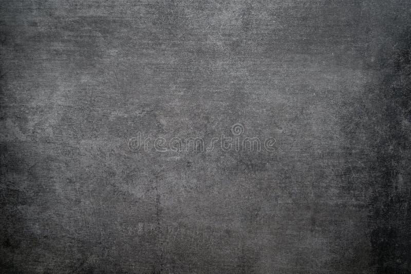 Fondo áspero de la textura negra de la pared, piso concreto oscuro o viejo fondo del grunge imágenes de archivo libres de regalías