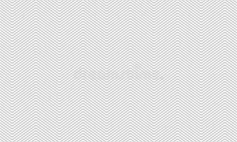 Fondo étnico del modelo de la raya del alto detalle estupendo ilustración del vector