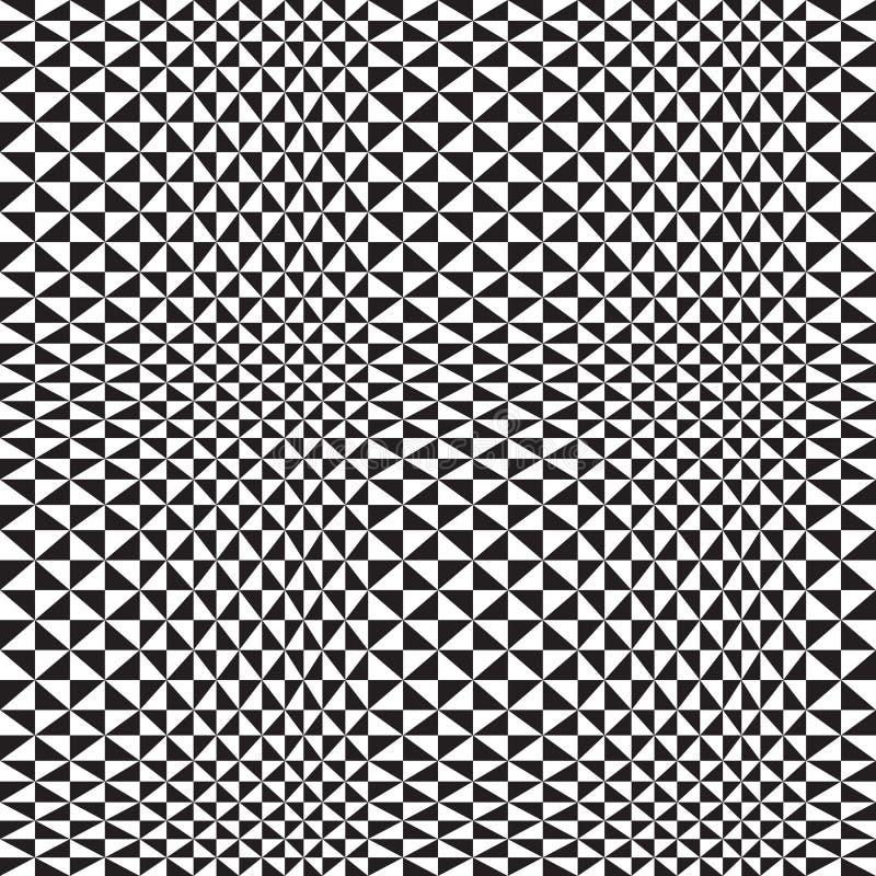 Fondo óptico del triángulo stock de ilustración