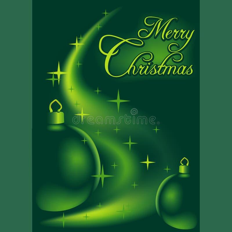 Fondo 04 de la Navidad stock de ilustración