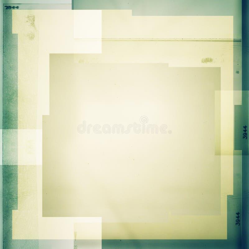 fondo 2 del color del Cruz-proceso stock de ilustración