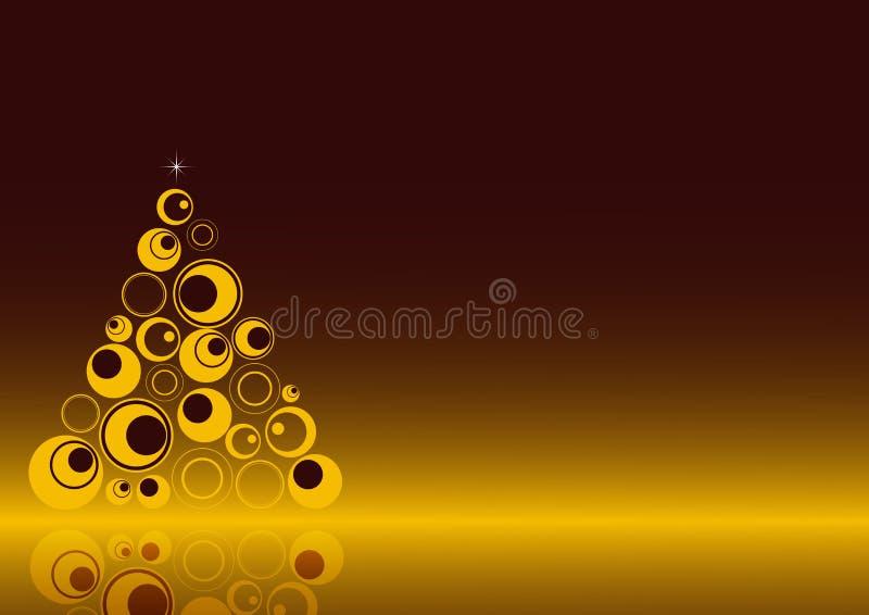 Fondo 3 de la Navidad stock de ilustración