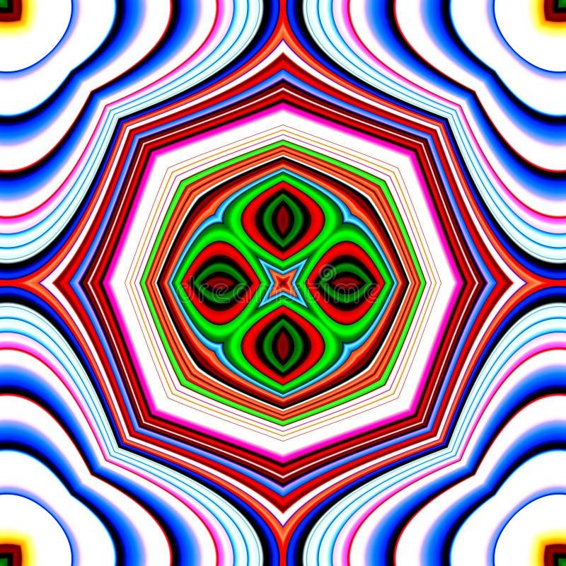 Fondo 30 del modelo del azulejo del modelo del color libre illustration