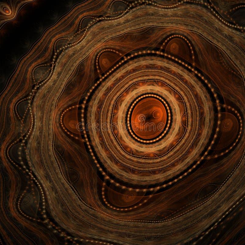 Fondo aborigen abstracto foto de archivo libre de regalías