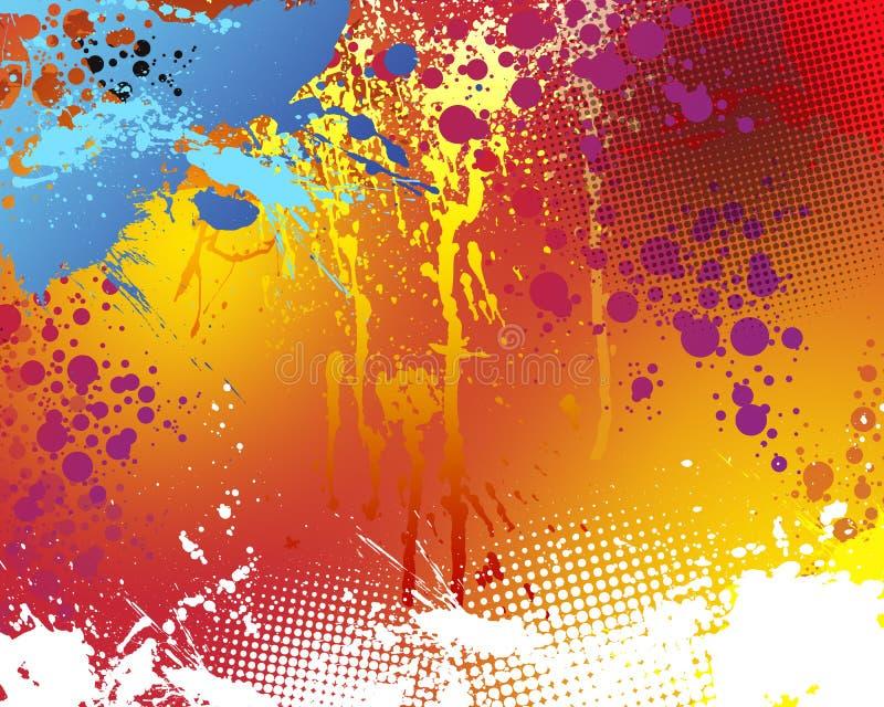 Fondo abstracto 10 ilustración del vector