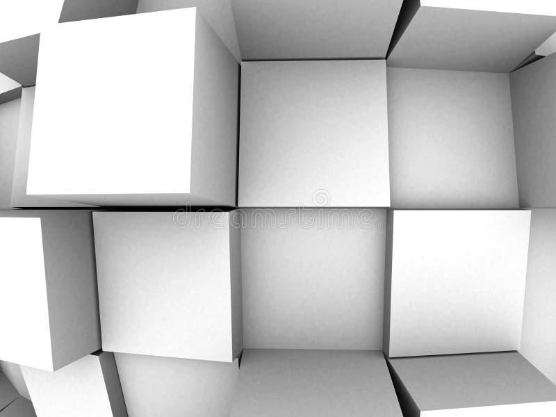 fondo abstracto 3d stock de ilustración